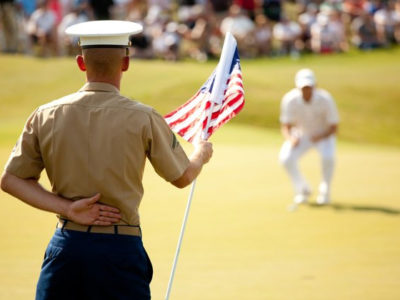 Veterans golf