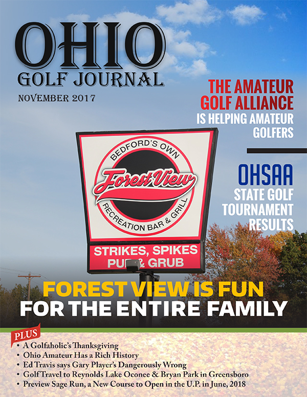 Ohio Golf Journal November 2017